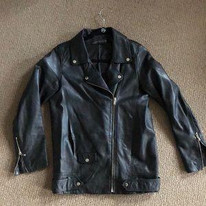 100% REAL LEATHER Zara jacket!